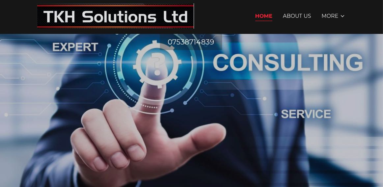 TKH Solutions Website